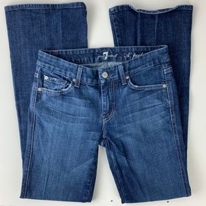 7 For All Mankind 'A' Pocket Flare Jeans Size 26